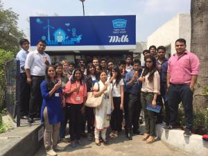 Industrial Visit to Mother Dairy Ghaziabad
