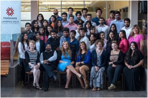 Group Photographs-Faculty and Students at Fanshawe College Canada