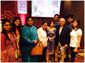 ILM Faculty and Students with Mr Gurcharan Das