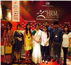 IILM Faculty and Students with Mrs Rumjhum Chatterjee, Group MD, Feedback Infra Pvt Ltd