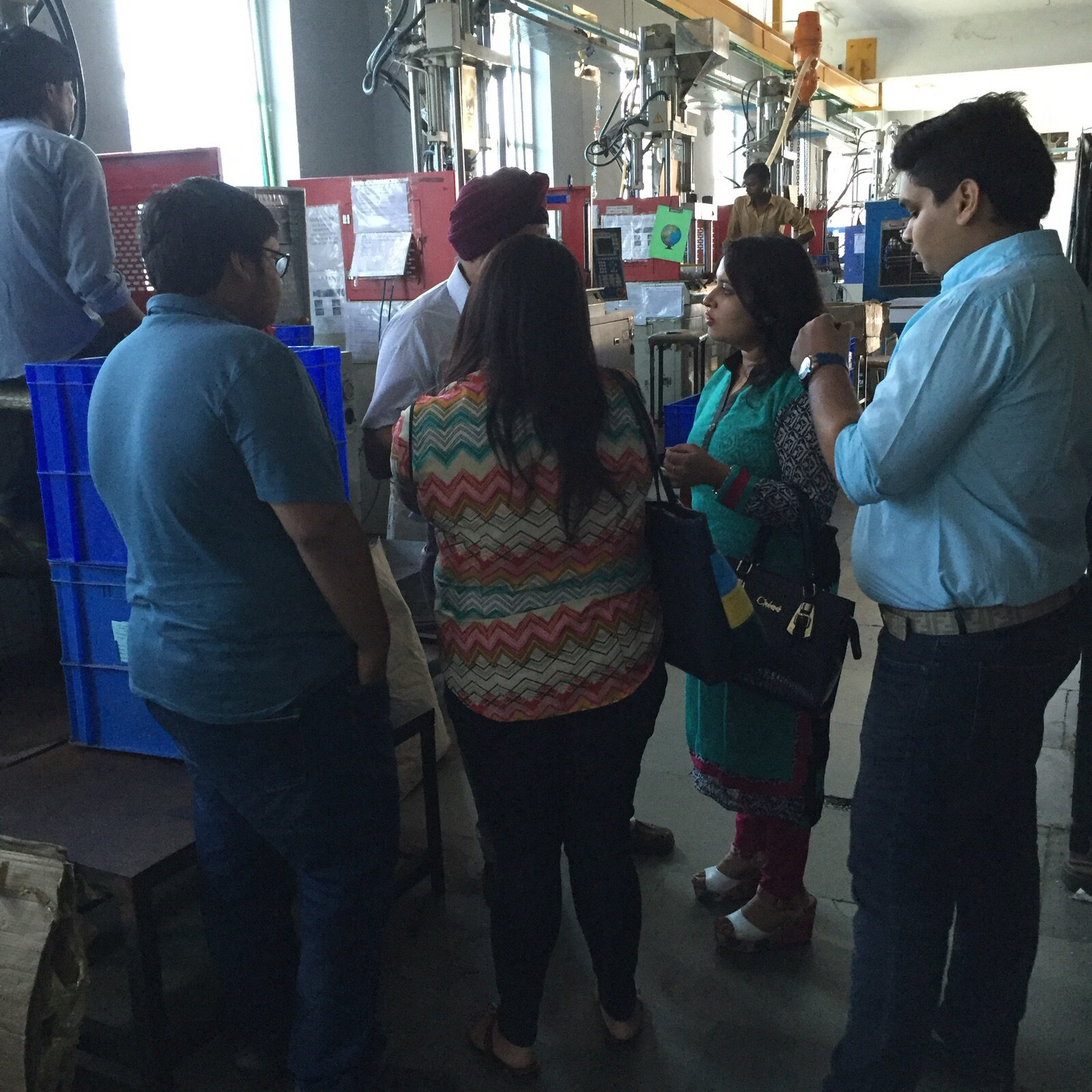 Company Visit To Viney Corp Manufacturer Of Auto Parts For Bmw Rolls Royce The Iilm Blog