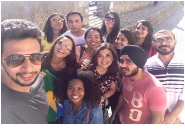 Meeting international students