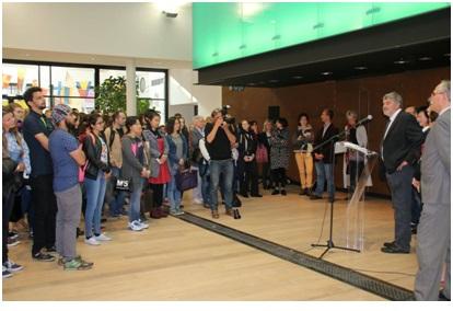 Mayor Addressing international students