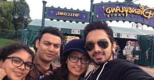 Selfie at Disneyland