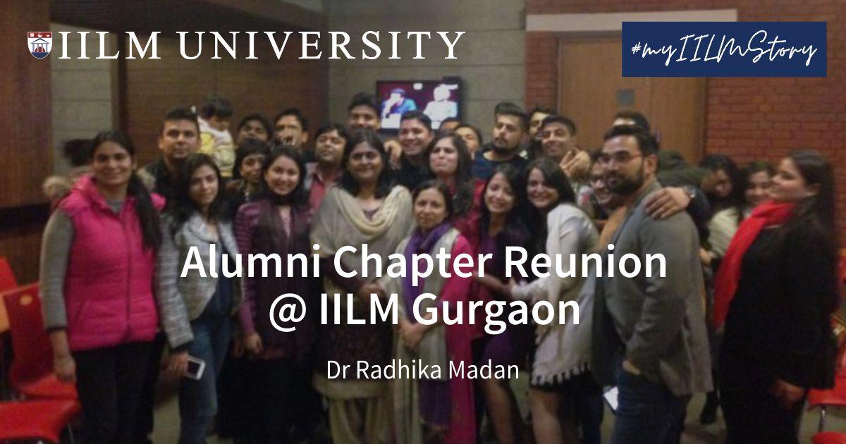 Alumni Chapter Reunion @ IILM Gurgaon