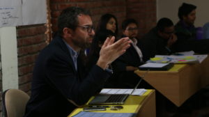 Guest lectures and seminars by foreign faculty