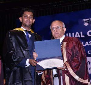 IILM-Alumnus-Joseph-Davis-convo