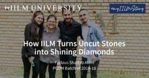 How IILM Turns Uncut Stones into Shining Diamonds